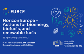 Horizon Europe – Actions for Bioenergy, Biofuels and Renewable Fuels, 26 April 2021