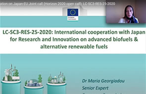Information on Japan-EU Joint call for research and innovation on advanced biofuels and alternative renewable fuels – Video available