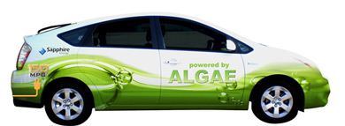 Sapphire Technology Algaeus - first hybrid to cross country using a belnd of algae-based renewable gasoline