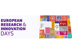 European Research and Innovation Days - 24-26 September, Brussels